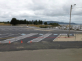 Hammond Marina in Warrenton - Parking lot layout and stripe